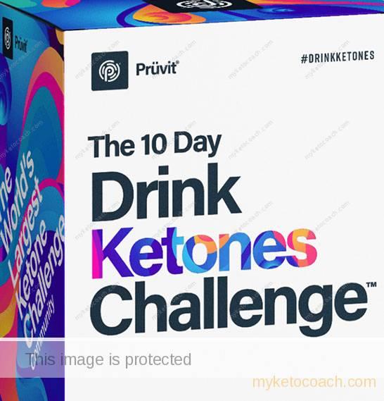 Drink Ketones Challenge - Pruvit