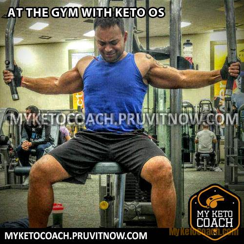 Keto OS workout exercise results