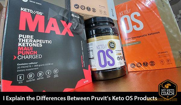 What are the Differences between Pruvit's Keto OS Products