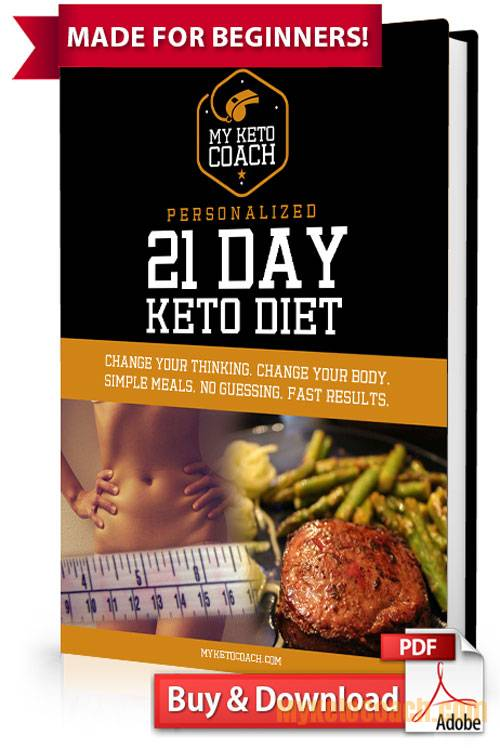 keto diet plan for beginners pdf