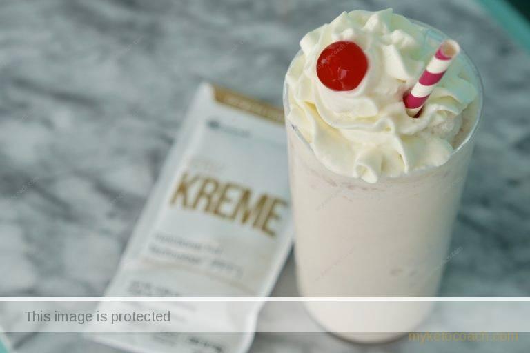 vanilla keto milkshake recipe