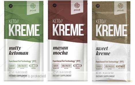 Keto Kreme FFT - Sweet Kreme, Mayan Mocha, Nutty KetoMan