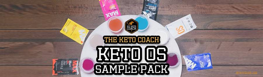 Keto OS Sample and Trial Packs - Get Yours from the Keto Coach Today