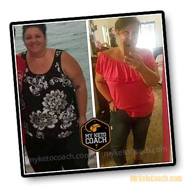 Kim - Before and After Results - MY KETO COACH DIET PLAN