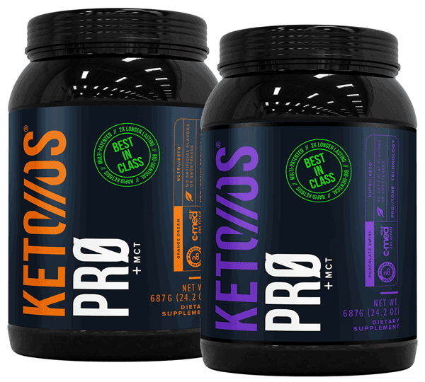 Pruvit Keto OS Pro - Protein Drink with ketones