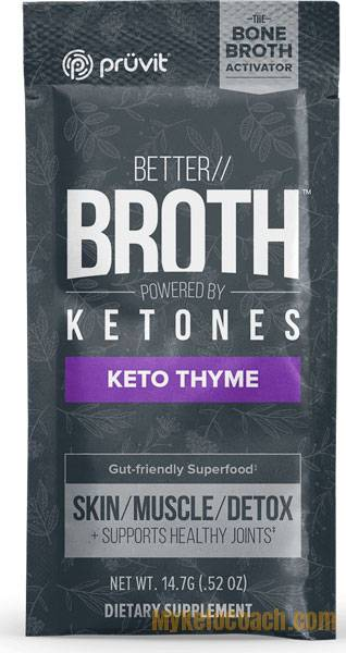 Keto REBOOT by Pruvit - Fasting Kit - Better Broth with Ketones