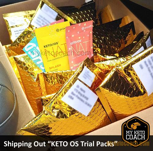 Keto OS Sample Packs - Trials Pack - For Sale