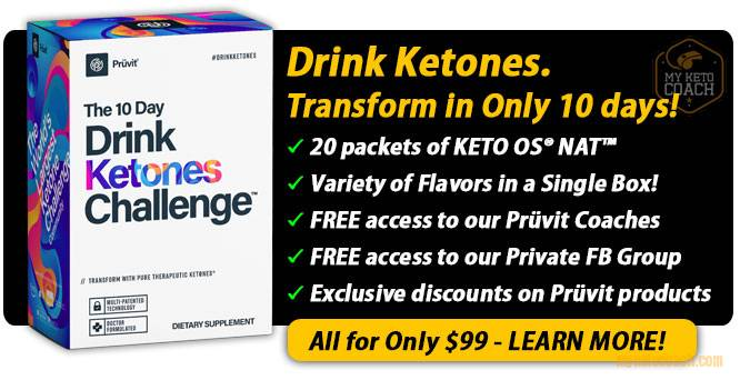 10 Day Drink Ketones Challenge
