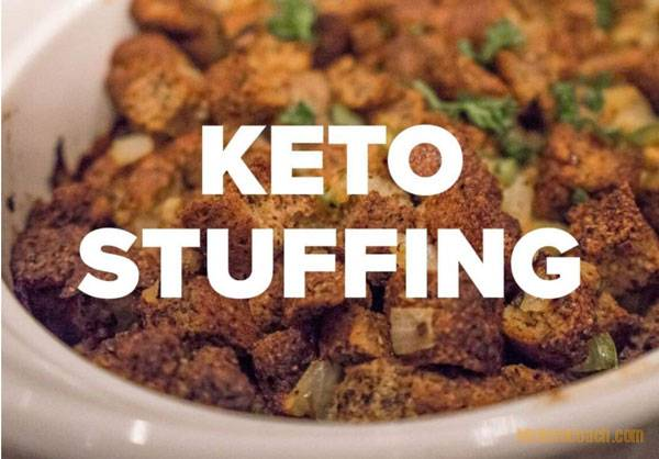 Keto Turkey Stuffing Recipe