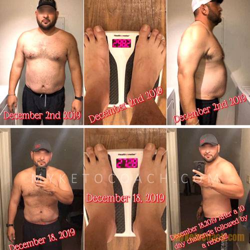 Rick shares his results of the 10 Day Drink Ketones Challenge - Before and After