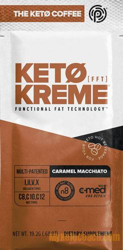 The NEW instant Keto Coffee Creamer