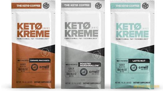 Keto Coffee - Variety of flavors