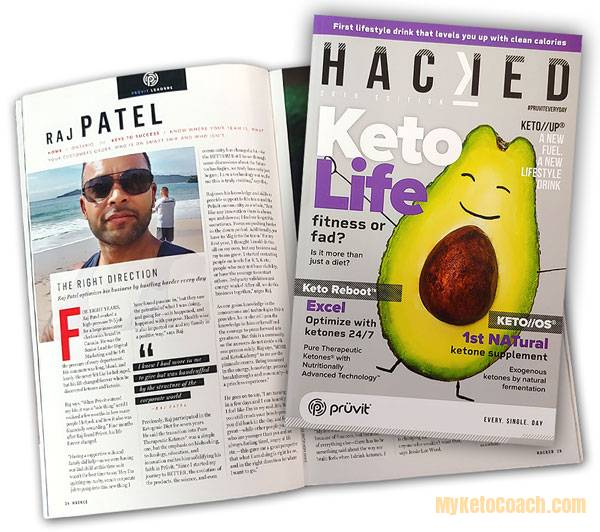 Top Pruvit Promoter - Raj Patel - Featured in Pruvit HACKED MAGAZINE