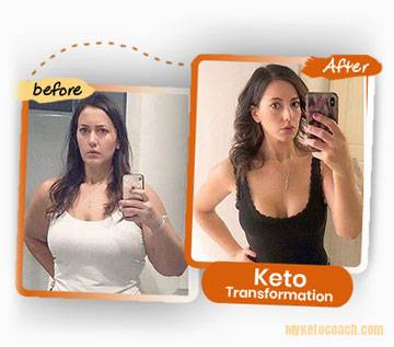 Before and After photo - Proper Keto Macro Calculations Diet Results