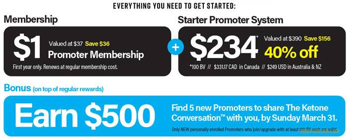 Pruvit Promoter Discount Pack - Limited Time