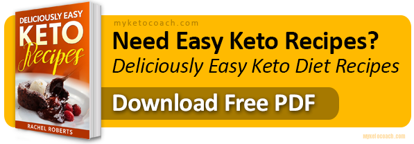 Free PDF - Easy Keto Diet Recipes & Keto Diet Planning Information
