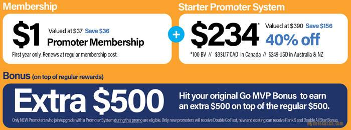 Price of Pruvit STARTER Promoter Distributor Pack - Discounted 40% off