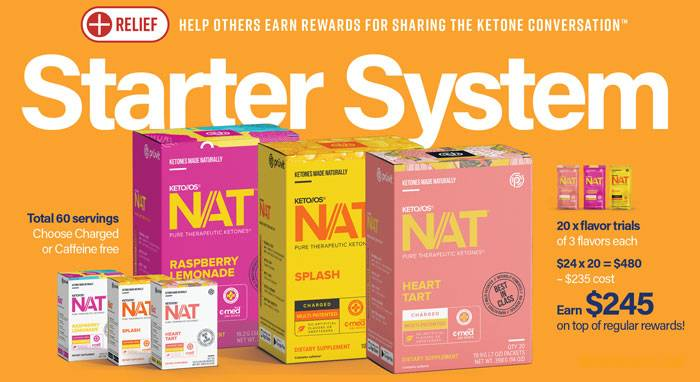Included in Pruvit STARTER Promoter Distributor Pack - Discounted 40% off