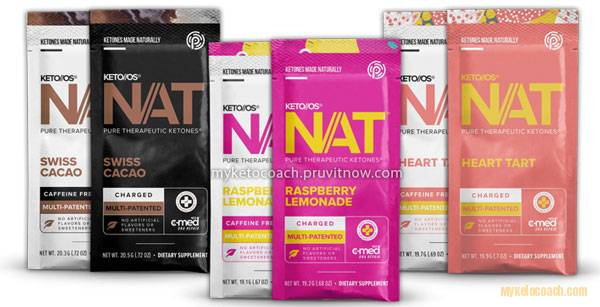 Singapore Keto OS Nat Packets Sachets - Heart Tart - Raspberry Lemonade - Swiss Cacao