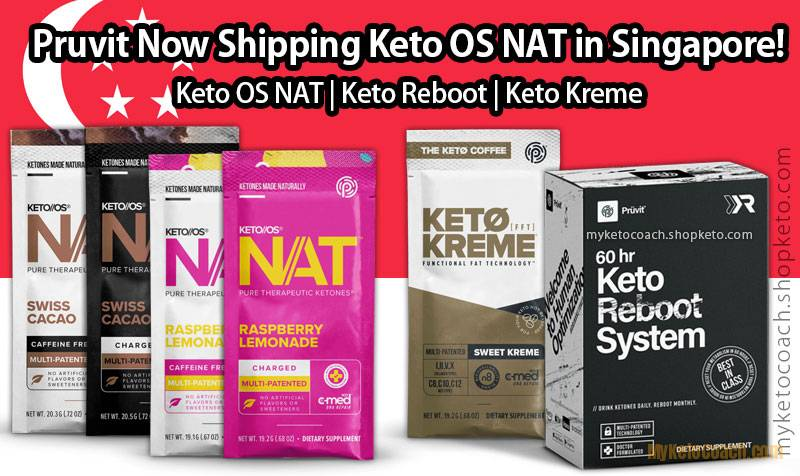 Pruvit Singapore - Keto OS NAT Drink Singapore