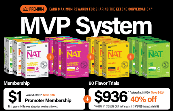 Included in Pruvit MVP Promoter Distributor Pack - Discounted 40% off