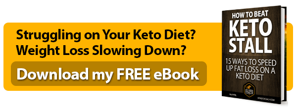 Free PDF eBook - How to Beat a Keto Stall and Improve your keto diet.