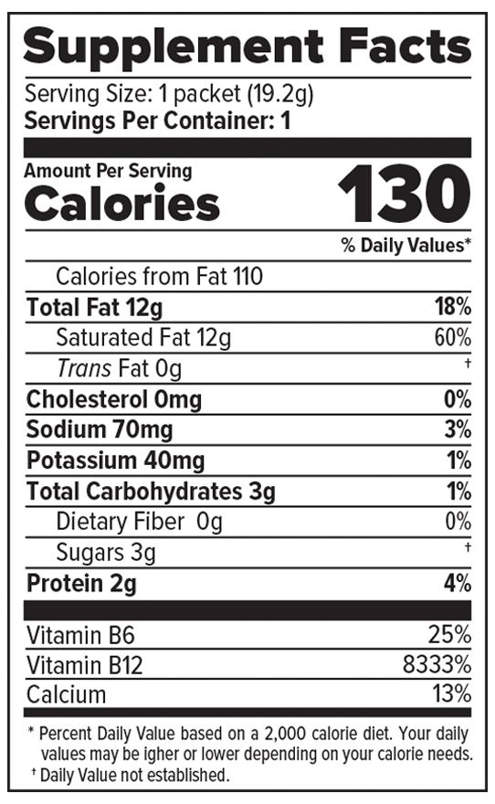 Bulletproof Coffee Nutritional Info