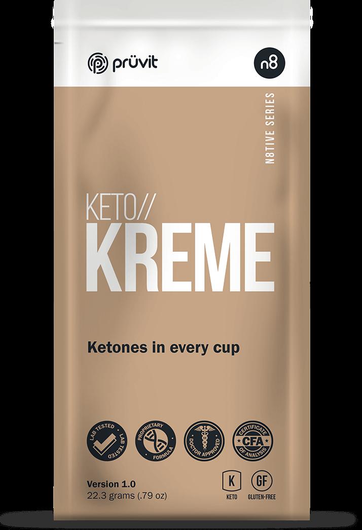 Keto Kreme By Pruvit. Bullet Proof Coffee Simplified
