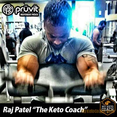 Raj Patel of Team Keto Coach - Keto OS Pruvit Team