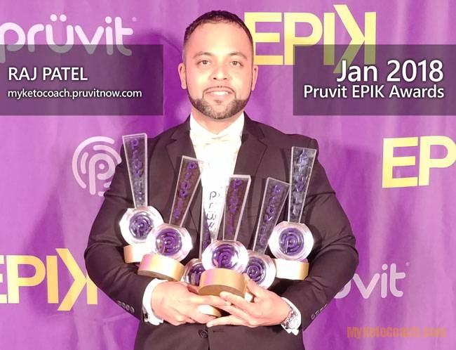 2018 6 TIME AWARD WINNER AT PRUVIT EPIK AWARDS
