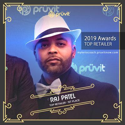 Raj Patel - Top Pruvit Promoter Distributor 2019
