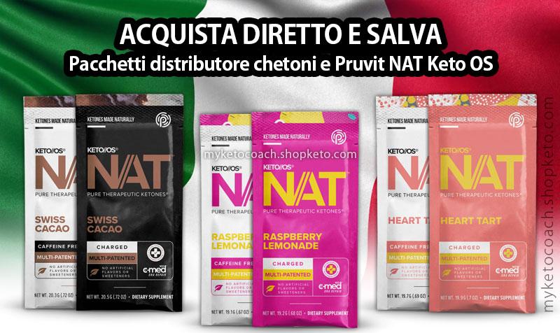 Pruvit Italia - Keto OS NAT