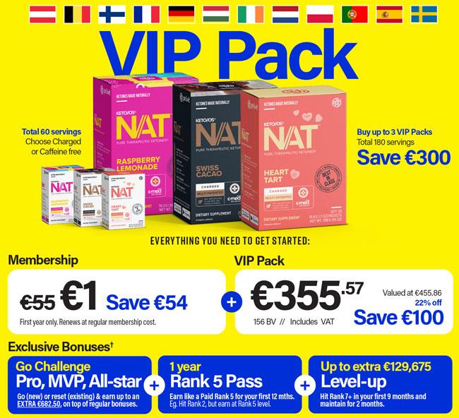 Exclusive - Pruvit Netherlands Promoter Distributor Pack