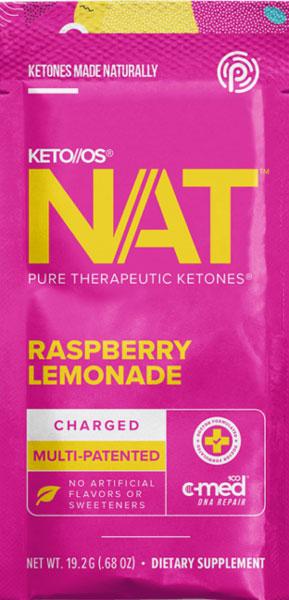 Keto OS NAT - Raspberry Lemonade Ketones