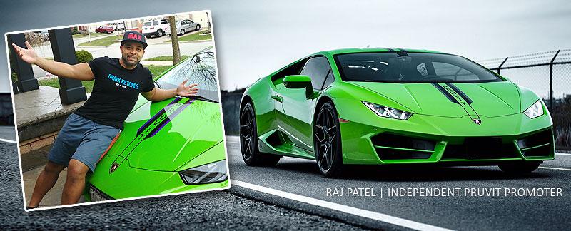 Keto Lambo - Pruvit Car Earner - Top Pruvit Promoter