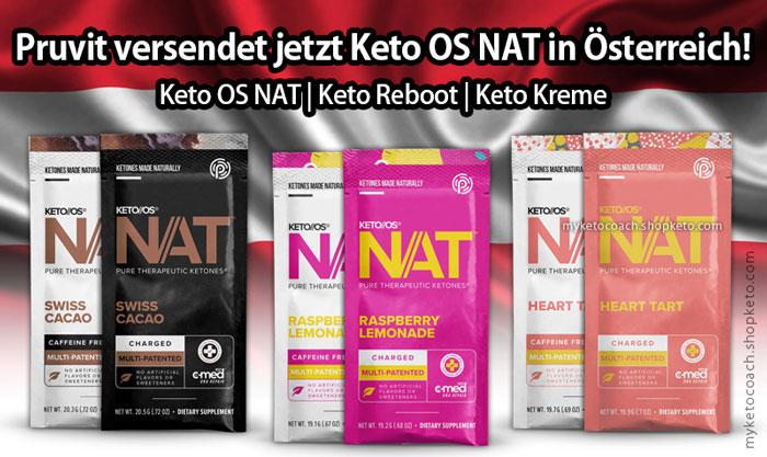Pruvit Osterreich - Pruvit Austria - Keto OS NAT Keton