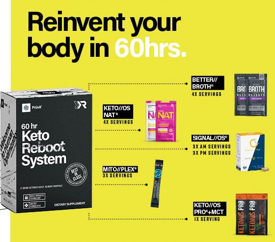 Keto Reboot Sale