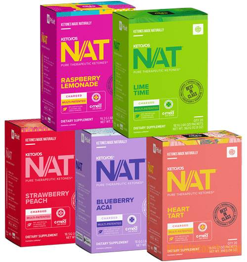 Pruvit Keto OS NAT Discounted Bundles - Mini