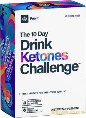 Drink Ketones Challenge - Pruvit Canada - Popular Product